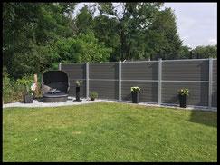 Sichtschutzelemente aus WPC und Holz  von GreenFairway e.K.