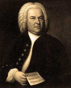 Foto: J.S.Bach Gemälde von Elias Gottlob Haussmann, 1748