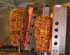 für Gyros und Döner Kebab