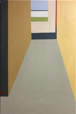 Farbräume 9, Acryl, 60 x 40 cm, 2019