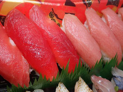 赤身や大とろのにぎり寿司 出前