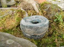 Pottery, celtic, mill. Monte Santa Trega, A Guarda, Pontevedra, Galicia