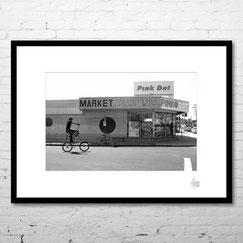 venice photography noir et blanc rue etats-unis los angeles californie cadre
