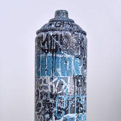 custom spraycan bombe peinture customisée kraft ville immeuble creation artistique objet design streetart graffiti savoie chambéry lyon france rhone alpes