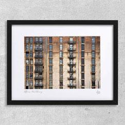 Office-Building immeuble new-york city facade fenetres bureau zoom photographie d'art encadré cadre design deco interieur appartement