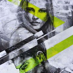 graffmatt achat œuvre originale tableau peinture portrait moderne art contemporain streetart graffiti