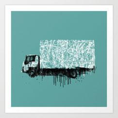 GRAFFMATT -Art Truck Graffiti Vehicule Streetart