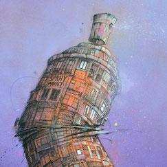 GRAFFMATT œuvre d'art streetart graffiti aerosol spray spraypaint spraycan bombe peinture illustration