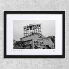 Westlake Theatre photographie d'art noir et blanc los angeles architecture ville deco interieur tableau cadre pas cher achat