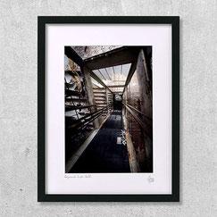 photographie descent into hell photo lieu abandonné achat cadre deco urbex