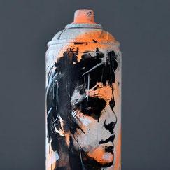 custom spraycan bombe peinture customisée creation artistique objet design streetart graffiti savoie chambéry lyon france rhone alpes