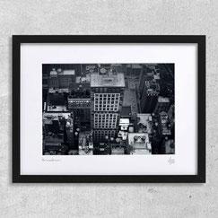 koreatown photographie d'art contemporain moderne deco bureau deisgn architecte noir et blanc artiste new-york ville immeubles building gratte ciel