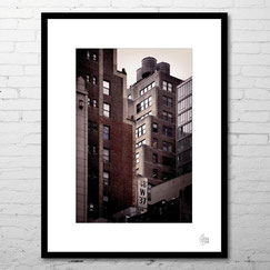 photo art contemporain architecture newyork new-york city immeubles buildings achat commande photo encadrée sous cadre