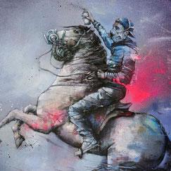 graffmatt achat œuvre originale tableau peinture rue ville newyork city pont brooklyn metro art contemporain streetart graffiti