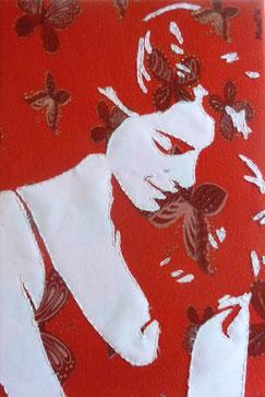 Butterfy 24 x 35 cm