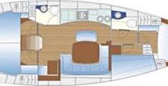 Bavaria 44 Sunturist Yachting Yachtcharter Kroatien Sonderangebote Segelboote Segelyachten  Marina Tankerkomerc Zadar