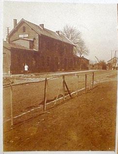 Photo prise par un soldat Allemand cantonné à Achiet