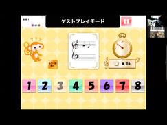 ↑学習アプリゲームもできちゃう!