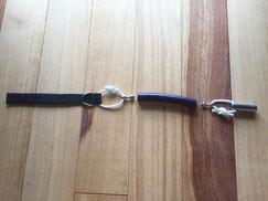 手銛ゴムの一本引き加工結束図