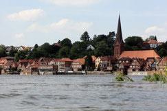 Hochwasser Lauenburg/Elbe - Foto: U. Schmidt