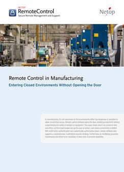 Remote Control Manufacturing