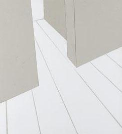 p5, 2005, Buchbinderkarton, 55 x 50 x 0,3 cm