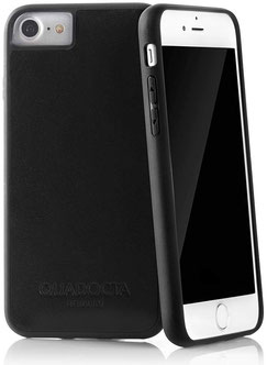 No.6 iPhone 7/8 Leder Case in Schwarz