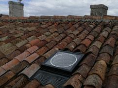 Conduit de lumière sur toiture