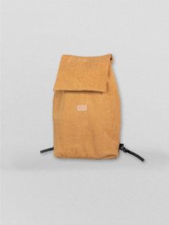 Minirucksack - Cord - Rucksack Cord - Cord - currygelb - gelb - dunkelgelb - Rucksack - Cordtasche - Zacamo - kleiner Rucksack - Streetstyle