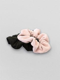 Zacamo - Scrunchie - Scrunchie Set Cactus - Scrunchies - Haargummi - Haargummis - Haarschmuck - Haarband - Haargummi Cord - Scrunchie Cord - Vintage - Retro
