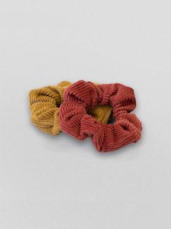 Zacamo - Scrunchie - Scrunchie Set Tulip - Scrunchies - Haargummi - Haargummis - Haarschmuck - Haarband - Haargummi Cord - Scrunchie Cord - Vintage - Retro