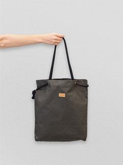 Shopper - Tragetasche - gruen - grün - flaschengrün - Damentasche - Handtasche - Tasche - Kordel - verstellbar - wasserabweisend - wasserfest - einkaufstasche  - große Tasche - shopper gruen - dunkelgruen - olivgruen -