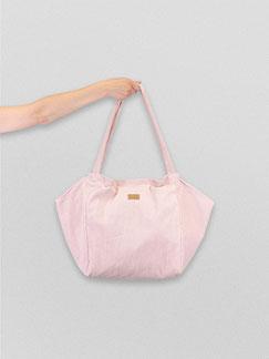 Tote Bag - totebag - Tote Bag puderrosa - große Tasche - Umhängetasche - Shopper - Cordtasche - Cord - lange Henkel - Unitasche - rosa - puderrosa - Damentasche - hellrosa - Tasche rosa - Handtasche - Handtasche rosa - Tasche hell