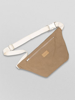 Bauchtasche Ubangi - Bauchtasche - Ubangi - wasserabweisend - Tasche - Handtasche - Bumbag - Crossbodybag - herrentasche - Damentasche - brown - braun - weiß - beige - kamelbraun - ocker