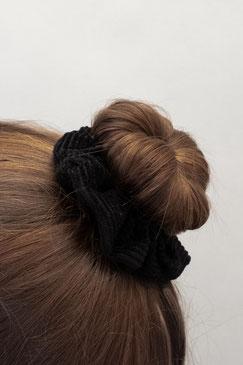 Scrunchie Set Dusk - Scrunchies - Haargummi - Haarband - Haargummis schwarz - Zacamo