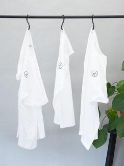 T-Shirt - Shirt - Shirt weiß - Logoshirt - Damenshirt - Männershirt - Herrenshirt - Shirt female - Zacamo