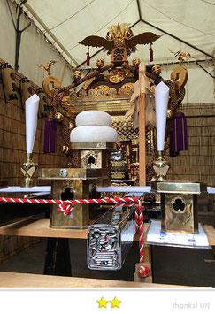 岡倉司郎さん:鉄砲洲稲荷神社  新富町の大神輿