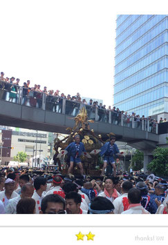 大鐡さん:神田祭