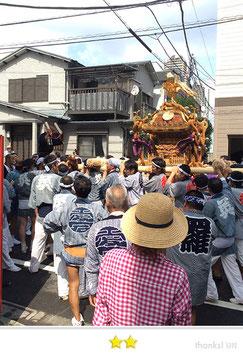 二郎さん:猿江神社例大祭