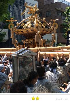 二郎さん:深川神明宮大祭