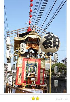 カエルさん:亀岡祭(鍬山神社例大祭)
