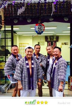 keijiさん:鳥越神社例大祭
