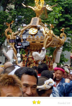 seaさん:波除稲荷神社・つきじ獅子祭