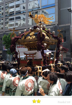 二郎さん:椙森神社大祭 宮神輿渡御