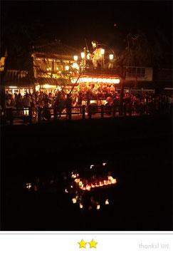 門前人さん:佐原本宿八坂神社祇園祭(佐原の大祭)