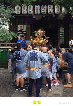 二郎さん:桜木神社大祭