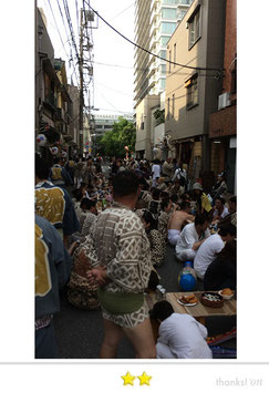 大鐡さん: 三社祭