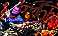 Coverband mit Saxophonist Rüdiger Scheipner