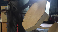 Holz Rahmentrommel