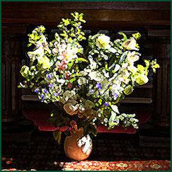 Gemälden von  Van Goch, ein Blumenstrauß